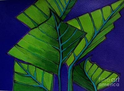 Painting - Hosta Blue Tip Two by Grace Liberator