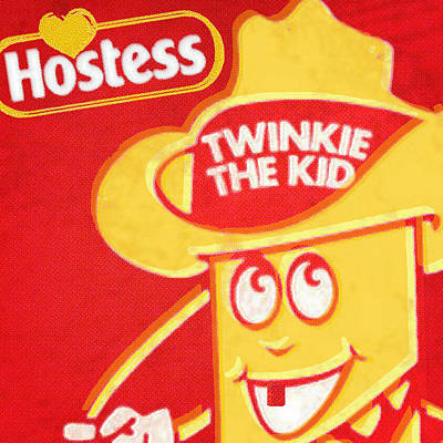 Painting - Hostess Twinkie The Kid by Tony Rubino