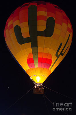 Photograph - Hot Air Above Arizona by Patty Descalzi