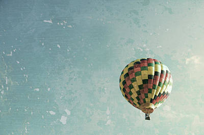 Hot Air Balloon Photograph - Hot Air Balloon  by Brooke T Ryan