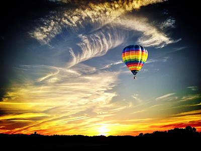 Photograph - Hot Air Balloon by Chris Montcalmo