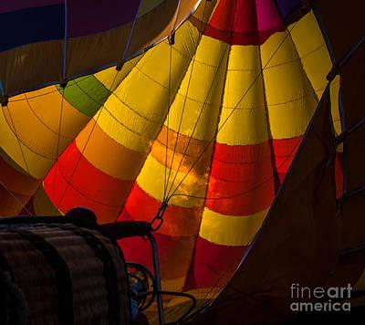 Photograph - Hot Air Balloon Closeup by Ronald Grogan
