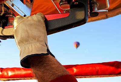 Photograph - Hot Air Balloon Control by Daniel Woodrum