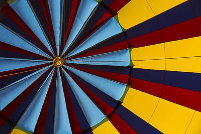 Hot Air Balloon Graphic Art Print