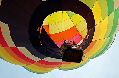 Photograph - Hot Air Balloon by Judy Salcedo