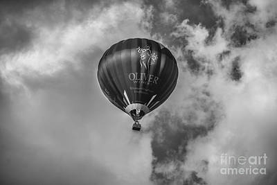 Photograph - Hot Air Balloon Ow 1 by David Haskett