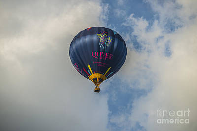 Photograph - Hot Air Balloon Ow 8 by David Haskett