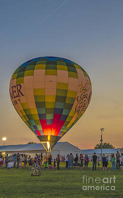 Photograph - Hot Air Balloon Ow 9 by David Haskett