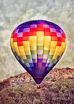 Photograph - Hot Air Balloon Ride by Cheryl Davis