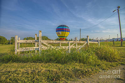 Photograph - Hot Air Balloon Riley 3 by David Haskett