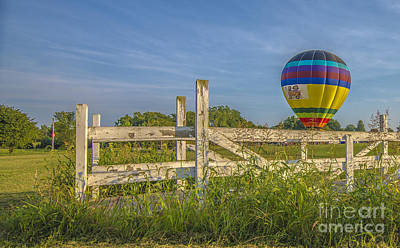 Photograph - Hot Air Balloon Riley by David Haskett II