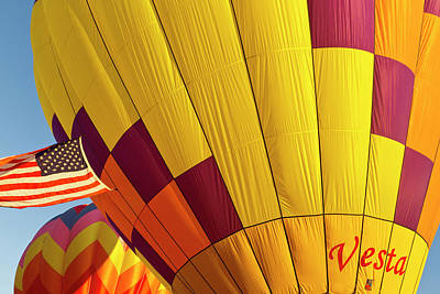 Albany Photograph - Hot Air Balloons, Albany, Oregon by William Sutton