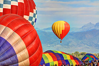 Photograph - Hot Air Balloons by Scott Mahon