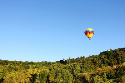 Photograph - Hot Air Balloons by Trina  Ansel