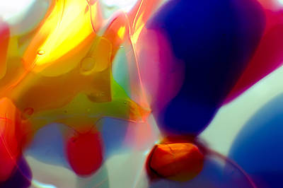 Handblown Glass Art Photograph - Hot Air Baloons by Omaste Witkowski