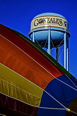 Photograph - Hot Air In Gonzales by Andy Crawford