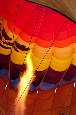 Photograph - Hot Air Rising by Paul Mangold
