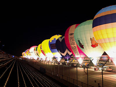 Balloon Glow Art Print by John Swartz