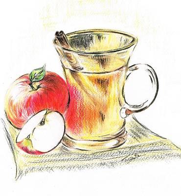 Hot Apple Cider Art Print