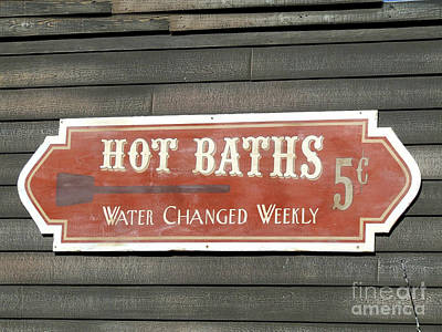 Photograph - Hot Bath by Scott B Bennett
