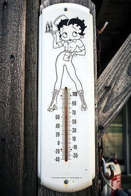 Montreal Icons Photograph - Hot Betty Boop by Sennie Pierson