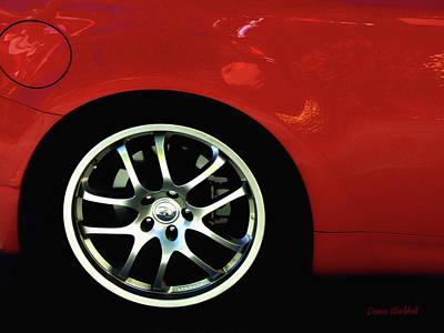 Photograph - Hot Car by Donna Blackhall