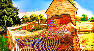 Photograph - Hot Chicken Coop by Gregory Scott