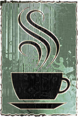 Hot Coffee Art Print by David G Paul