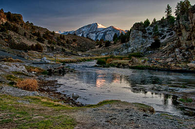 Hot Creek Photograph - Hot Creek by Cat Connor