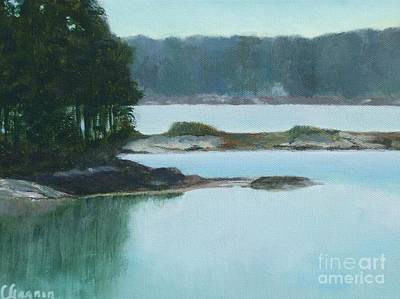 Painting - Hot Day In Rockland Me by Claire Gagnon