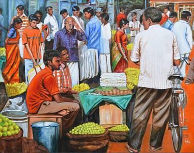 Cycles Painting - Hot Deals by Usha Shantharam