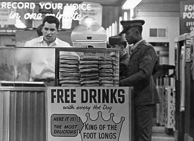 Playlands Photograph - Hot Dog Stand At Playland by Underwood Archives