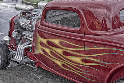 Photograph - Hot Dual by Jack R Perry