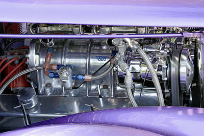 Photograph - Hot Engine by Bob Slitzan