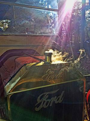 Digital Art - Hot Ford by Don Kleinschmidt