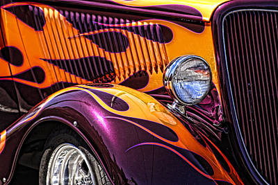 Photograph - Hot Ford by Wes and Dotty Weber
