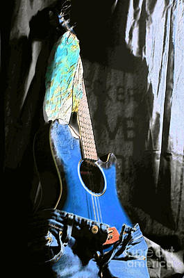 Photograph - Hot Guitar by Randi Grace Nilsberg