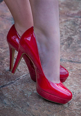 Photograph - Hot Heels by James Woody