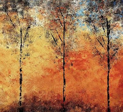 Hot Hillside Art Print by Linda Bailey