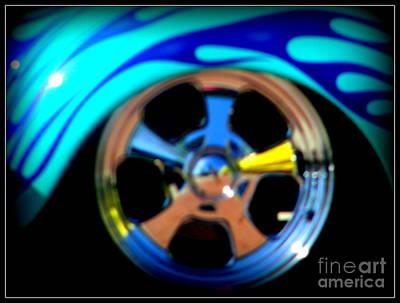 Art Print featuring the photograph Hot Hot Wheels  by Bobbee Rickard