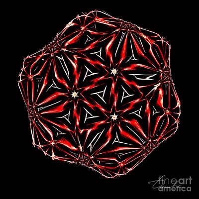 Digital Art - Hot Ice by Danuta Bennett