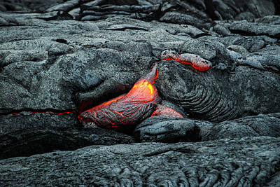 Photograph - Hot Lava by Jen Morrison