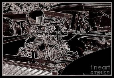 Photograph - Hot Motor  by Bobbee Rickard