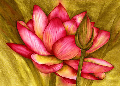 Painting - Hot Pink by Diane Ferron