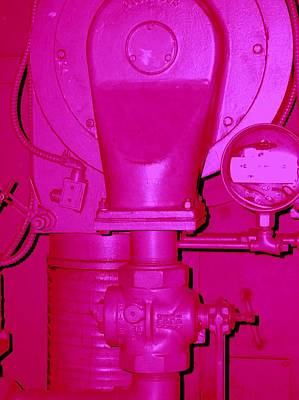 Photograph - Hot Pink Generator by Cleaster Cotton