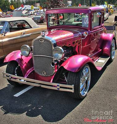 Photograph - Hot Pink Prapunto by Chris Anderson
