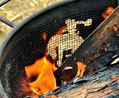 Burning Wood Photograph - Hot Ride by Kae Cheatham