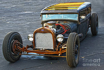 Photograph - Hot Rod - 01 by Gregory Dyer