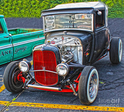 Photograph - Hot Rod - 02 by Gregory Dyer