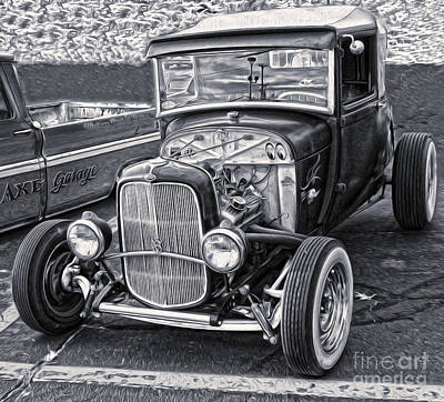 Photograph - Hot Rod - 03 by Gregory Dyer